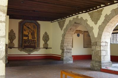 Ex-convento de Churubusco, one of the sights I saw in Coyoacan