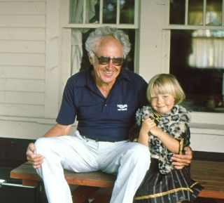 Henry and granddaughter Darcy Broughton